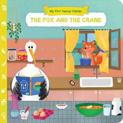 AESOP'S FABLES-THE FOX AND THE CRANE