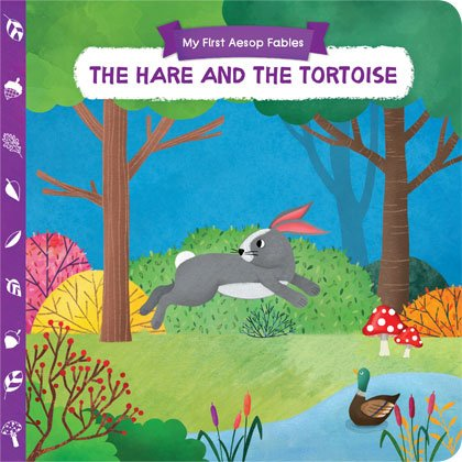 AESOP'S FABLES-THE HARE AND THE TORTOISE