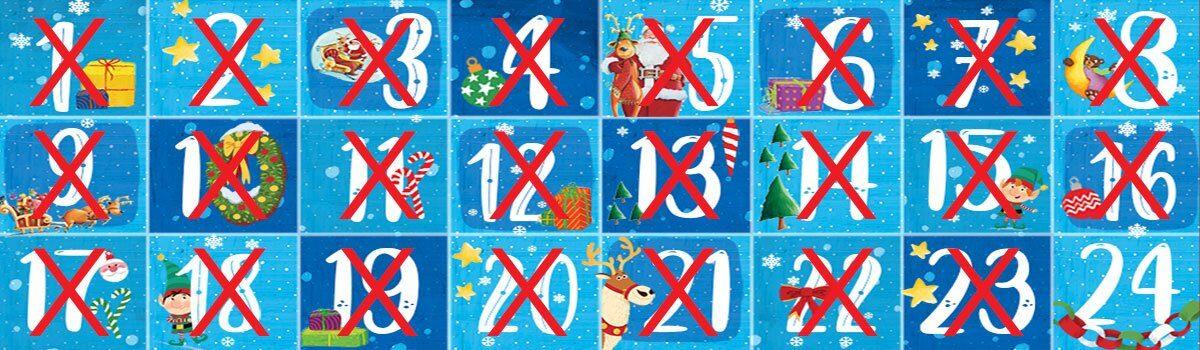 Χριστουγεννιάτικο Advent Calendar από τις Εκδόσεις Παπαδόπουλος